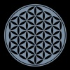 Vector - fiore della vita - 03, 1c, sacred geometry, energy, symbol, powerful, healing, protection, cl - Maglietta Premium da uomo