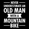 Old Man - Mountain Bike - Herre premium T-shirt