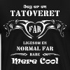 Tatoveret Far 2015 - Herre premium T-shirt