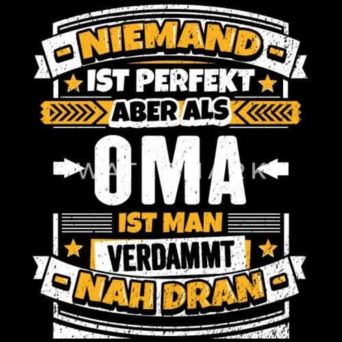 Lustiger Oma Spruch Manner Premium T Shirt Spreadshirt