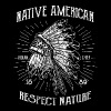 RESPECT NATURE - Indian Shirt motif - Men's Premium T-Shirt