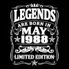 Legends are born in may 1988 - Men's Premium T-Shirt