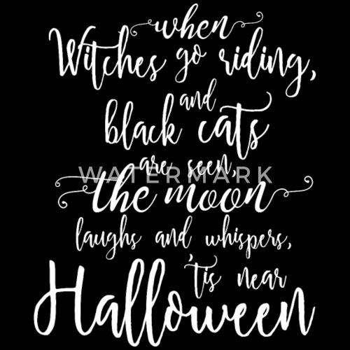 Halloween Spruch Geschenk Gedicht Kostüm von | Spreadshirt