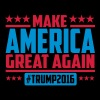 Make america great again trump 2016 - Premium T-skjorte for menn
