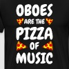Oboe oboist gift funny sayings - Men's Premium T-Shirt