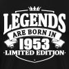 legends are born in 1953 - Men's Premium T-Shirt