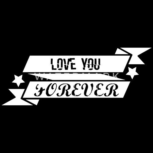 Love You Forever Mannen Premium T Shirt Spreadshirt