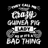 Crazy guinea pig lady funny sayings - Men's Premium T-Shirt