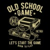 Old School Game Videogame Gaming Retro Vintage - Men's Premium T-Shirt