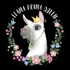 Llama Drama Queen - Men's Premium T-Shirt