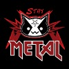Metal Cat - Stay Metal (Rote Edition) - Männer Premium T-Shirt