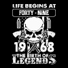 1968 the birth of Legends shirt - Men's Premium T-Shirt