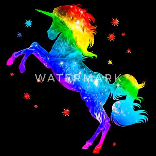 Licorne arc en ciel toiles color magie de space - Code promo collectionnez les etoiles frais de port gratuit ...