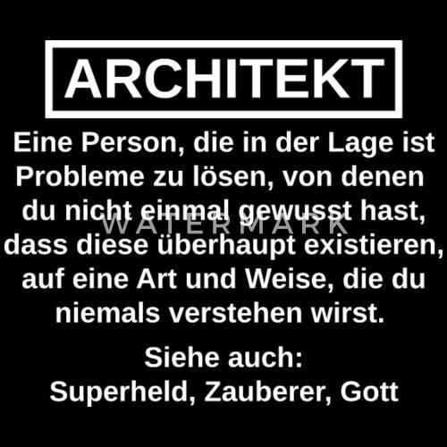 architektur sprüche Architekt lustige Sprüche Geschenk Männer Premium T Shirt  architektur sprüche
