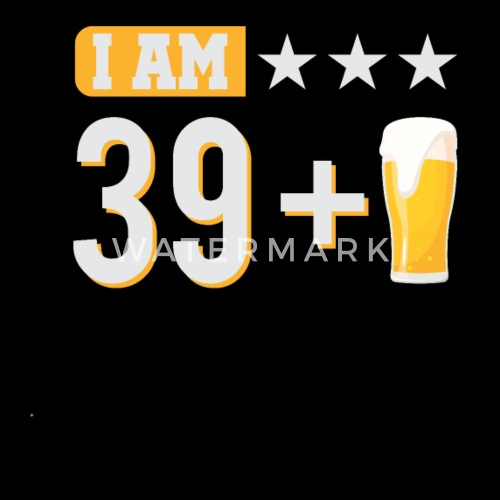 Shirt For 40th Birthday Funny Beer Gift Men S Premium T Shirt