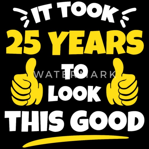 25 jaar verjaardag man   verjaardag
