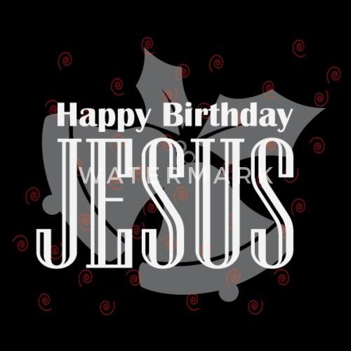 Happy Birthday Jesus Weihnachten Alles Gute Von Woop