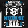 Mechanic Dad - funny fathers day - Men's Premium T-Shirt
