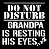 Do not disturb - Grandpa is sleeping - Men's Premium T-Shirt