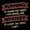 Funny Quotes> Running + Whiskey - Men's Premium T-Shirt