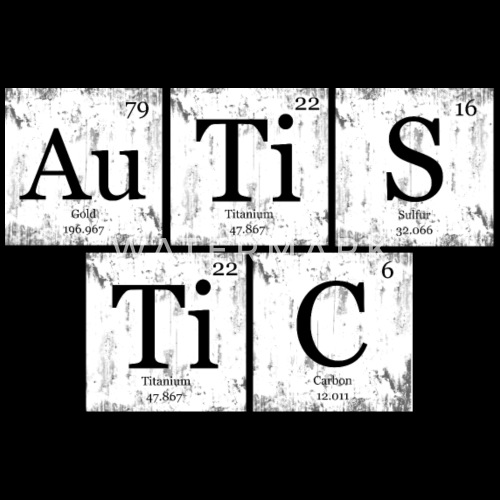 Autistic nerd geek periodic table by lorydesigns spreadshirt do you want to edit the design urtaz Gallery