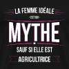 Agricultrice femme ideale Agricultrice - T-shirt Premium Homme
