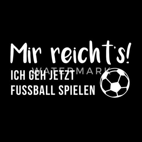Lustiger Fussballspruch Geschenk Geburtstag Fussball Manner Premium T
