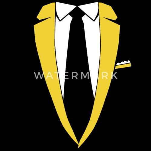 e07a67f41345 Sakko Krawatte Kostüm Party Edel Geschenk Männer Premium T-Shirt    Spreadshirt