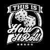 This Is How I Roll Dice - Men's Premium T-Shirt