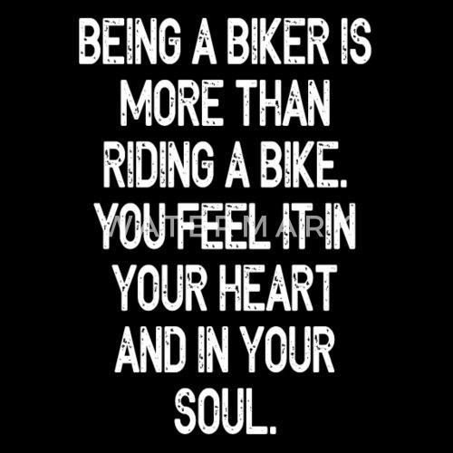 biker spreuken Motorfiets Biker Spreuken zeggen Mannen premium T shirt   Spreadshirt biker spreuken