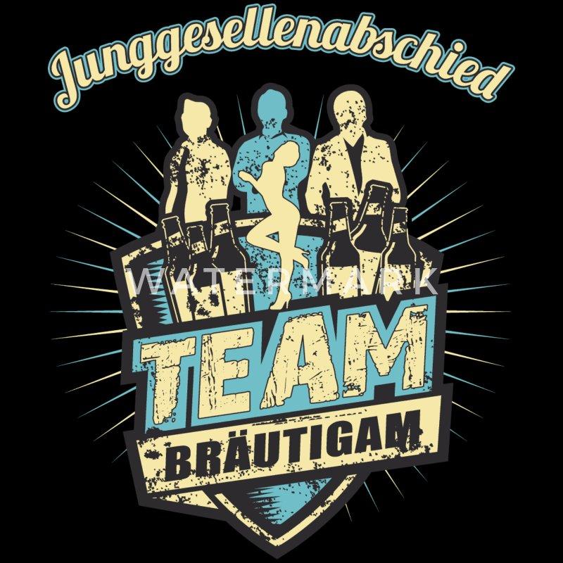 Spreadshirt - JGA Outfit Ideen für Männer - Team Bräutigam