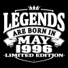 Legends are born in may 1996 - Men's Premium T-Shirt