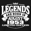 Legends are born in august 1953 - Men's Premium T-Shirt