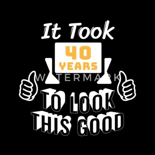 T Shirt 40 Geburtstag Damen Herren Lustig Geschenk Manner Premium T