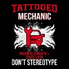 Tattooed mechanic - Men's Premium T-Shirt
