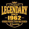 Legendary sinds 1962 - Mannen Premium T-shirt