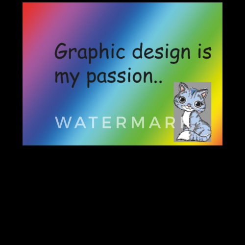 Graphic design is my passion  Graphic design is my Passion Designer T-shirt von shirtsly   Spreadshirt