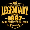 Legendary since 1987 - T-shirt Premium Homme