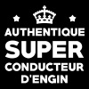 Conducteur d'engin / BTP / Travaux / Construction - T-shirt Premium Homme