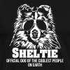 Sheltie plus cool personnes - T-shirt Premium Homme