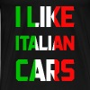 Italy cars - Men's Premium T-Shirt