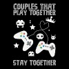 Couples that play game together - Men's Premium T-Shirt