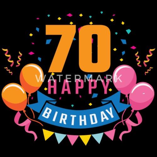 New 70ste verjaardag 70 jaar Gelukkige Gift van de Verjaardag van @JG25