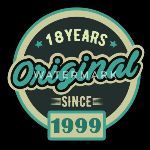 cadeau depuis 18 ans 18 ans t shirt premium homme spreadshirt. Black Bedroom Furniture Sets. Home Design Ideas