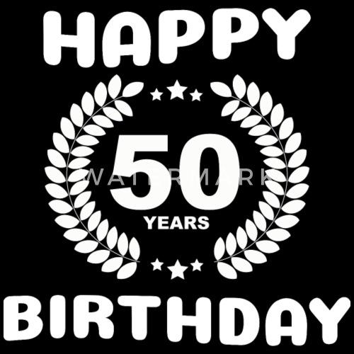 Genoeg Gelukkige Verjaardag: 50 jaar van Geschenke schenken   Spreadshirt #NC18