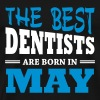 The best dentists are born in may - Men's Premium T-Shirt
