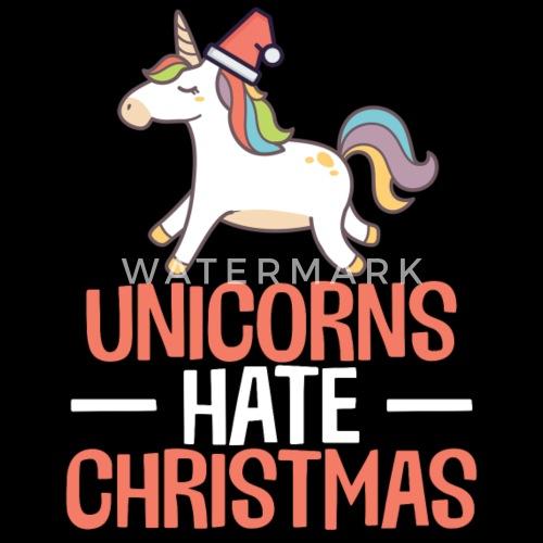 Einhörner hassen Weihnachten lustige Hater Anti Weihnachten von ...