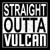 Straight Outta Vulcan (light) - Men's Premium T-Shirt