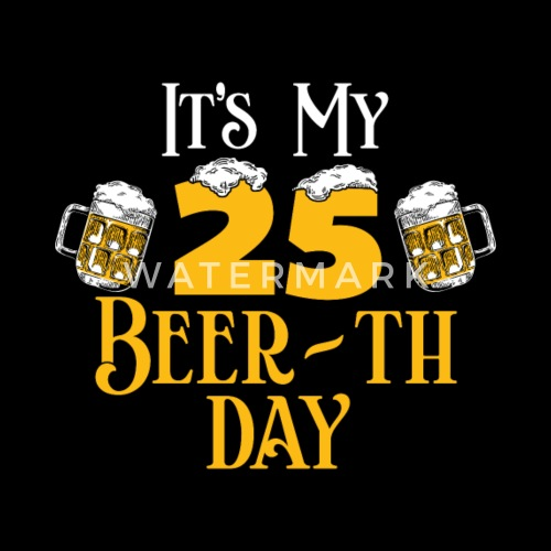 25th Birthday Gift Beer Idea By