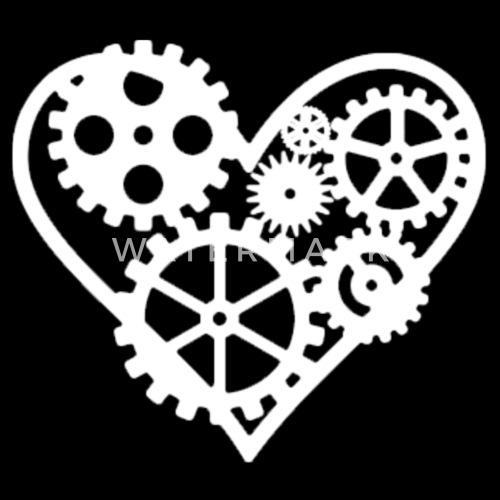 Coeur Steampunk coeur steampunk de | spreadshirt